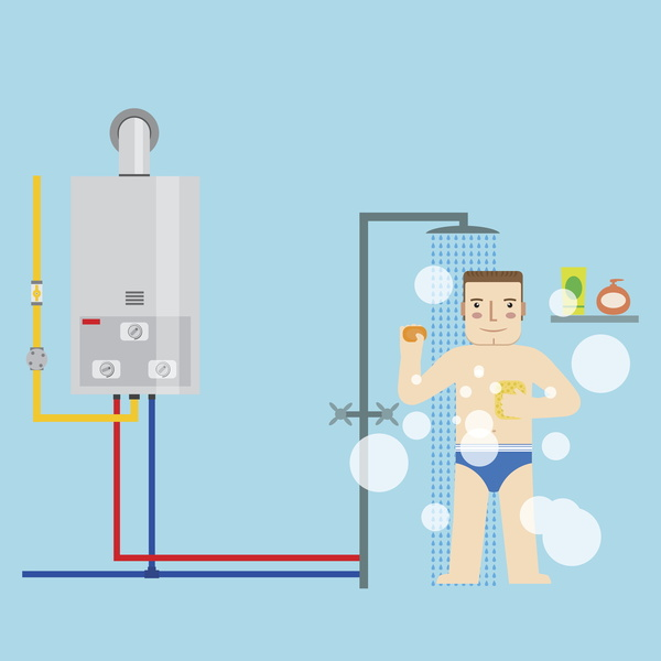 working-water-heater-graphic